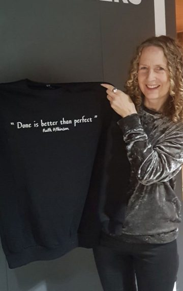 Ruth Atkinson - Done is better than perfect